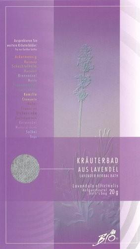 Kräuterbad aus Lavendel