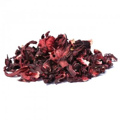 Hibiskusblüten Karkade getrocknet + ganz